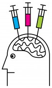Vaccinated brain logo